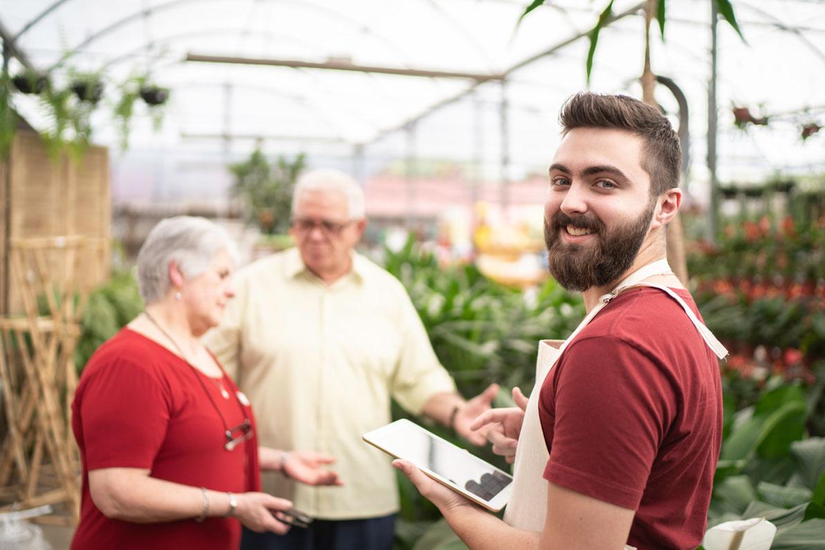 Service conseil en jardinerie